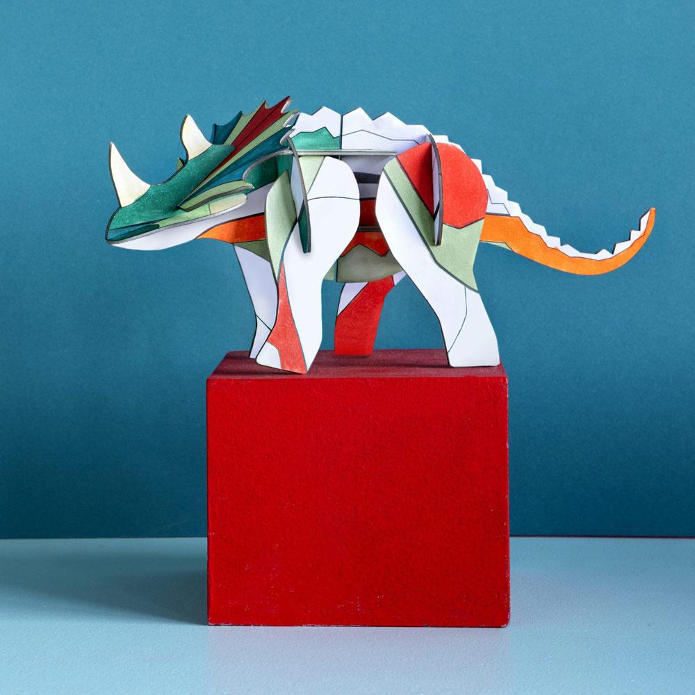 DIY Triceratops