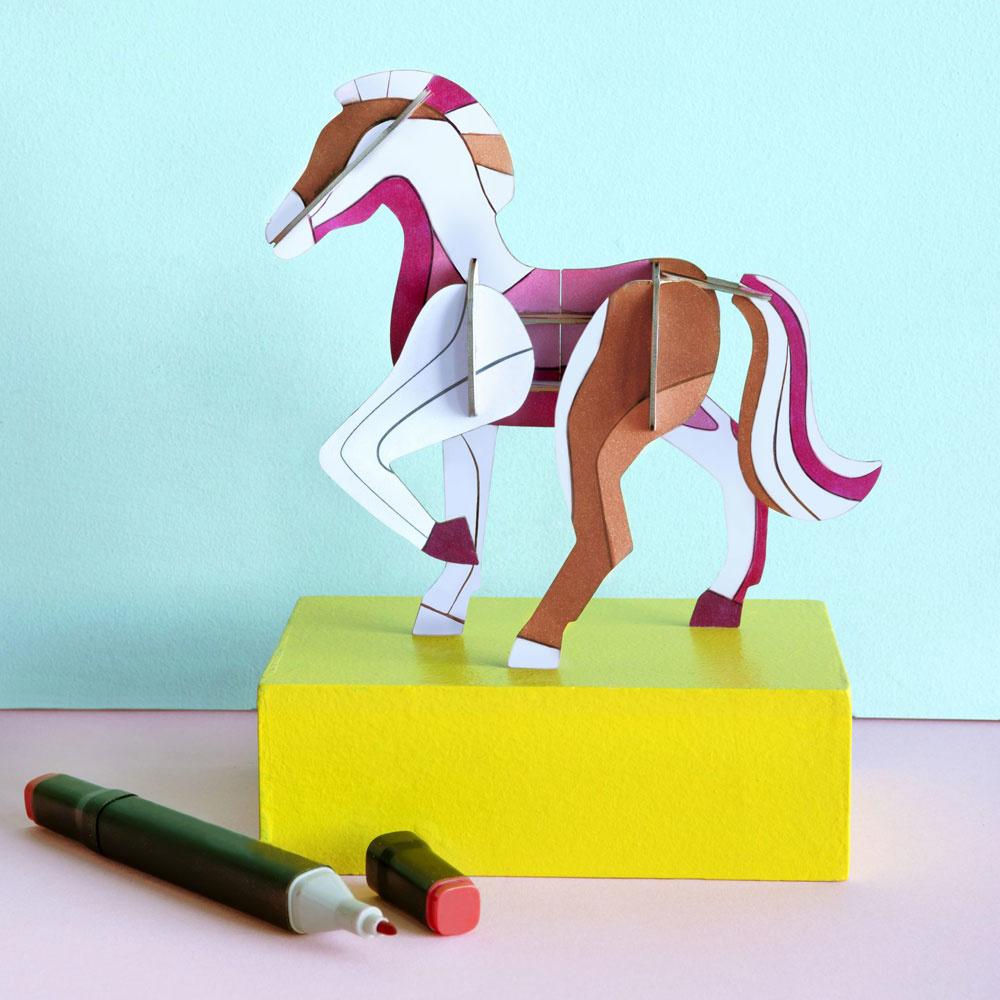 DIY horse