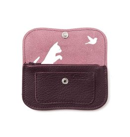 Keecie Purse Cat Chase Small Eggplant