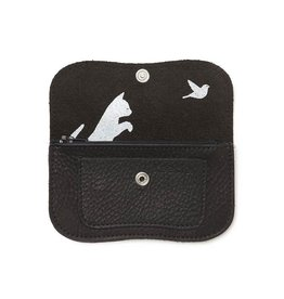 Keecie Purse Cat Chase Small Black