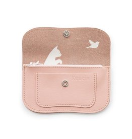 Keecie Purse Cat Chase Small Soft pink