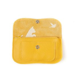 Keecie Purse Cat Chase Small Yellow