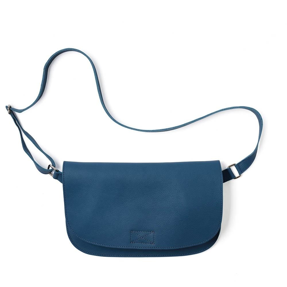 Bag Crossbody Lazy Boy Faded Blue