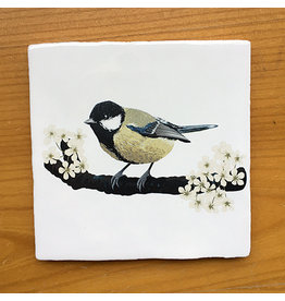 Myrte Vintage Tile Great Tit