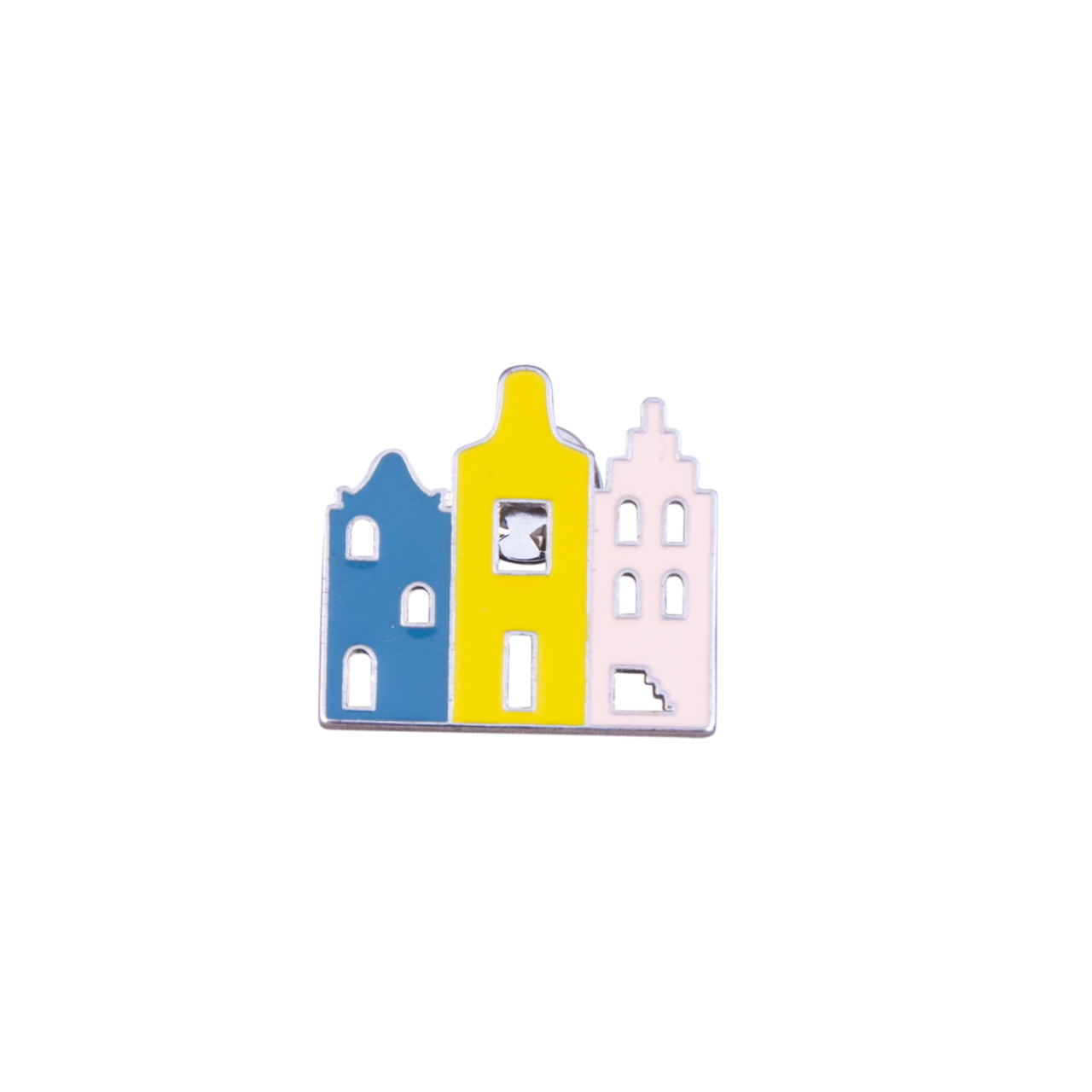 Pins Canal Houses set of 3
