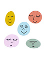 Pins-Faces-Assorted  per stuk te koop