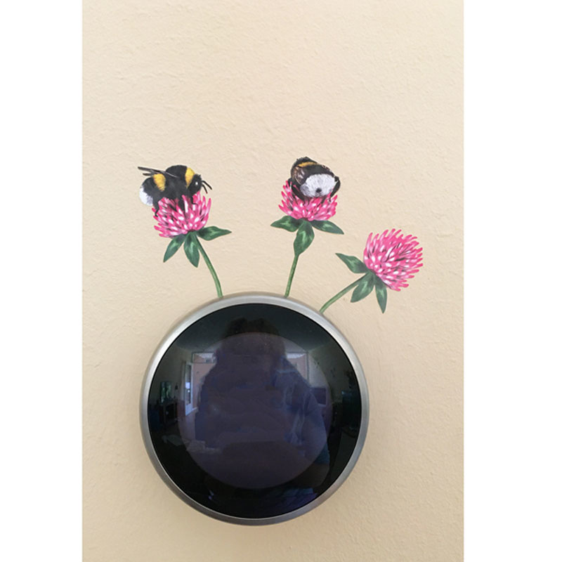 Insects and Flowers Wall Stickers
