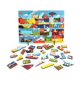 Ikonic Toys Kars + Boom Puzzel 'Dag'