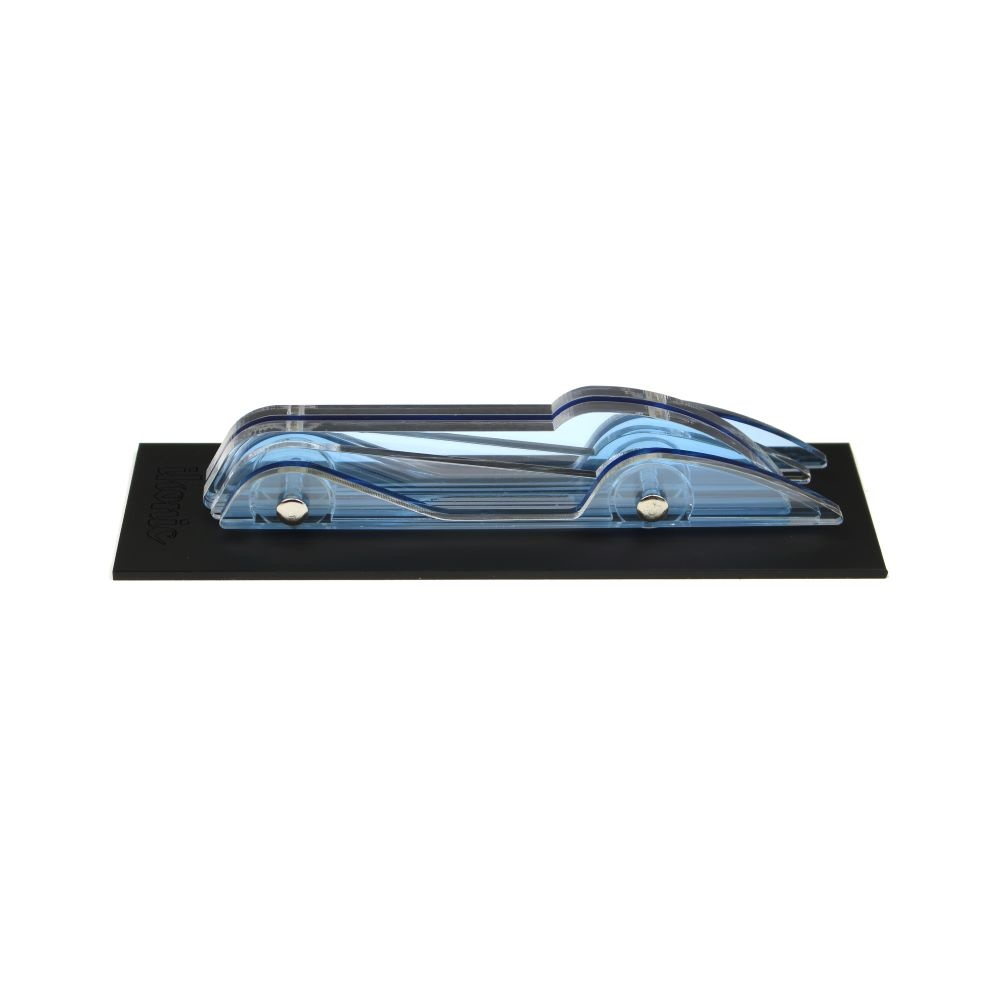 Lucite Car Small No3 Light Blue