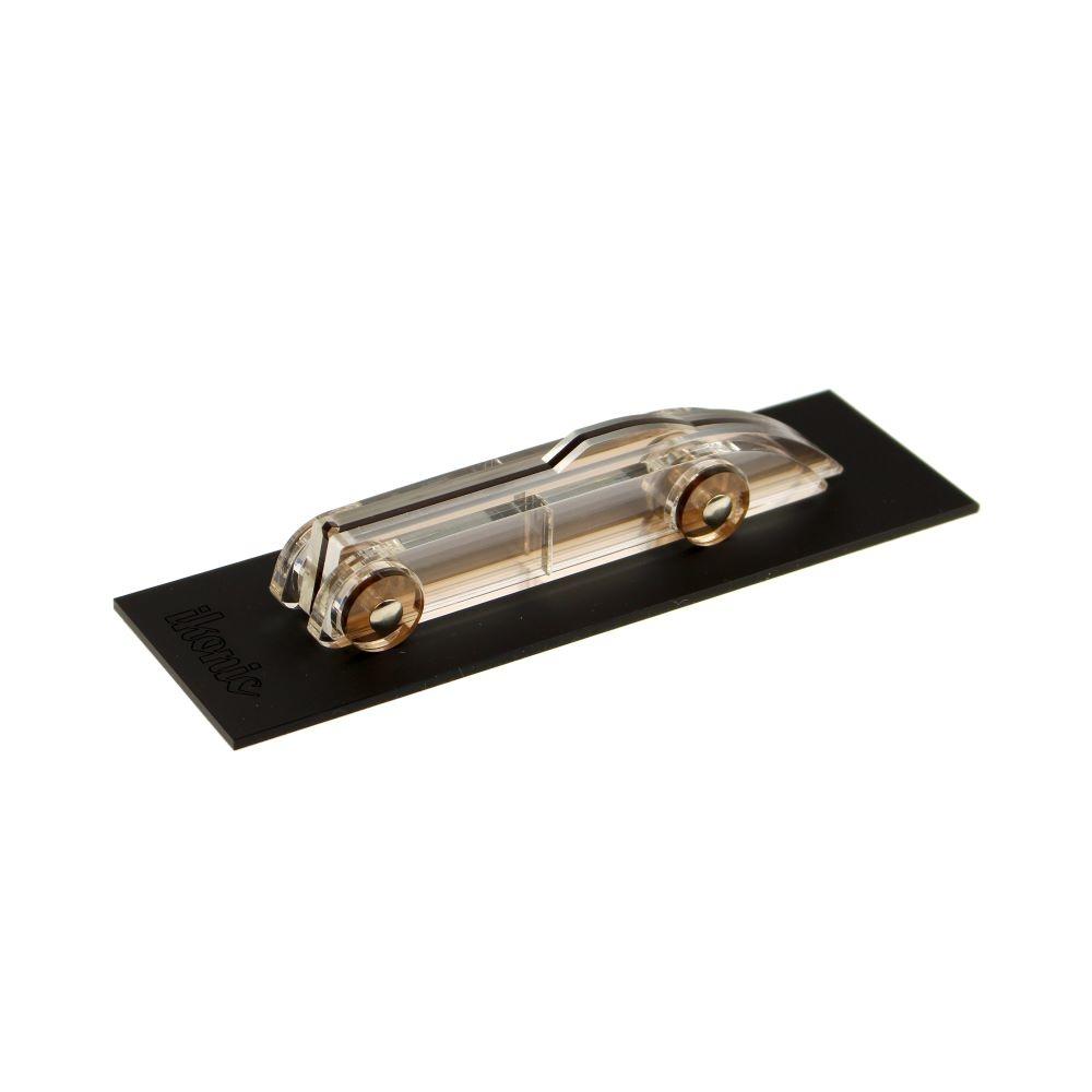 Lucite Car Small No1 Smoke, transparent art deco style car