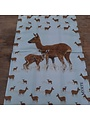Tea towel Deer with cub