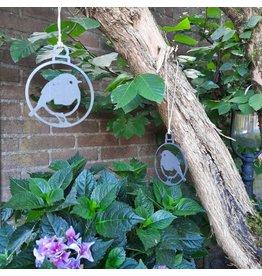 Metalbird Garden hanger set Robin