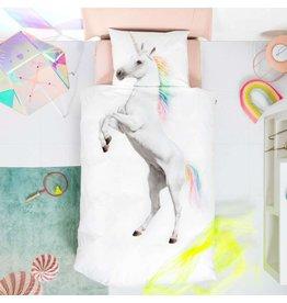 Snurk beddengoed Dekbedovertrek Unicorn 1 Persoons