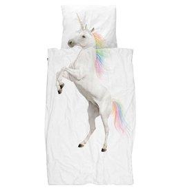 Snurk beddengoed Bettbezug Einhorn 1 Person