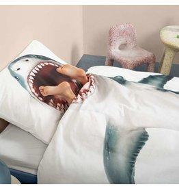 Snurk beddengoed Dekbedovertrek Shark 1 persoons