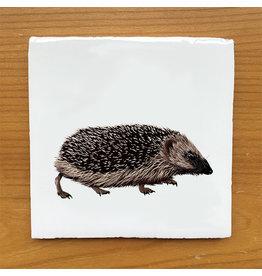 Myrte Vintage tile hedgehog