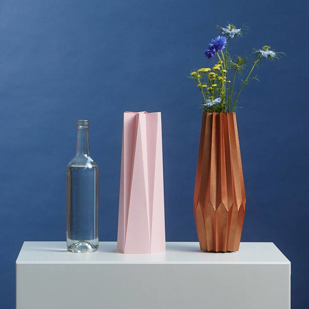 Card-Vase Stand Out Pink