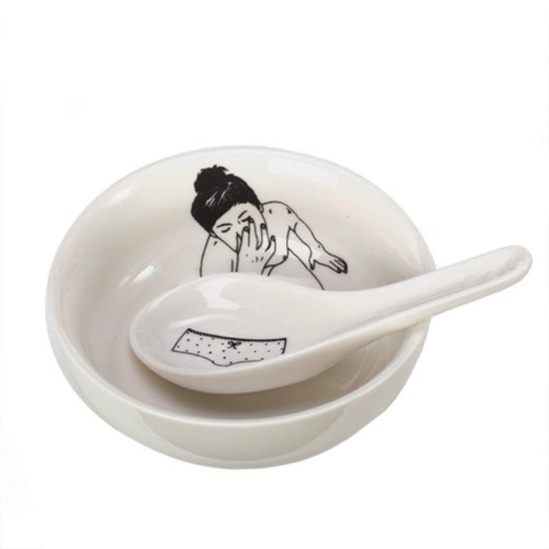Undressed Bowl Set van 4