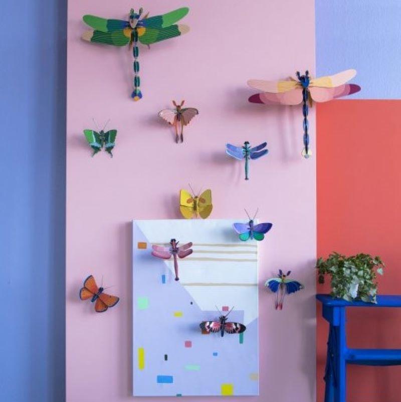 Blauwe Koperen Vlinder