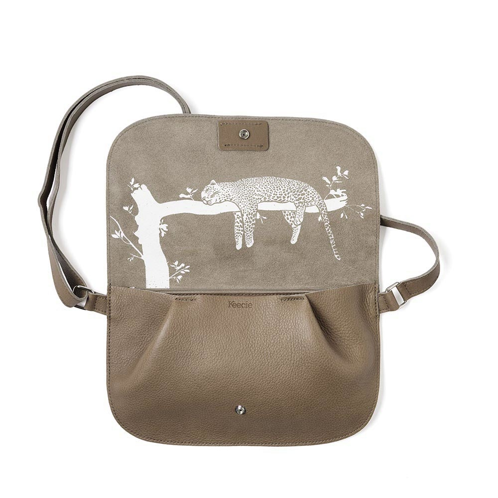 Tas Crossbody Lazy Boy Moss Used Look