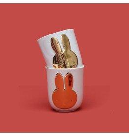 Hollandsche Waaren Tassen Nijntje Gold Set / 2