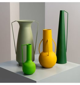 Pols Potten Vases Roman Set 4 Green