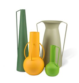 Pols Potten Vases Roman Set 4 Green