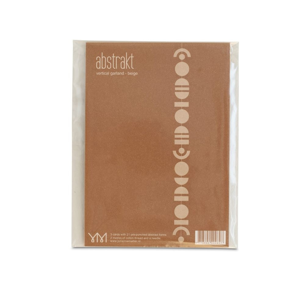 Abstrakt Garland Beige