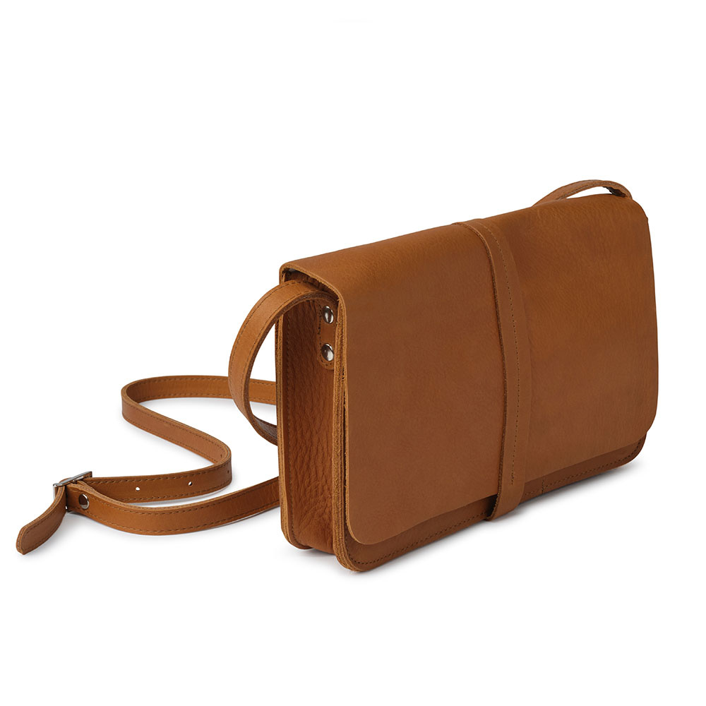 Bag Off Duty Cognac Gebraucht Look