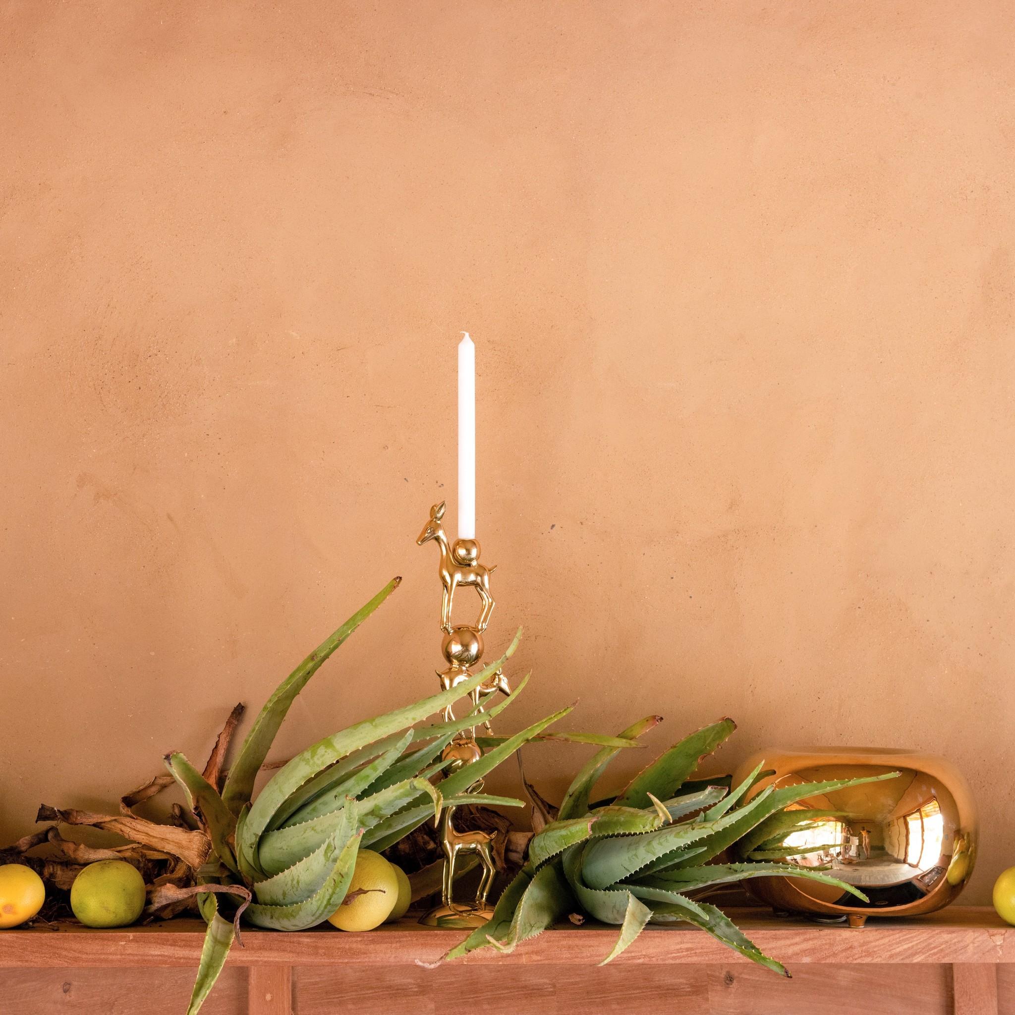 Candle Holder Bambi Gold