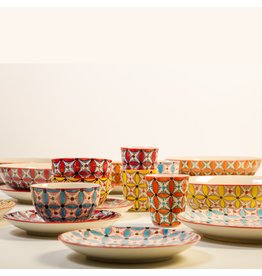 Pols Potten Dinerbord Hippy, Set 4