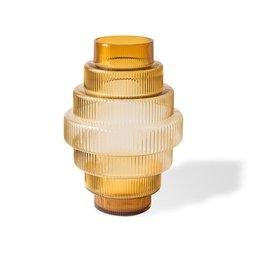 Pols Potten Vase Steps gelb groß