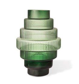 Pols Potten Vase Steps grün groß