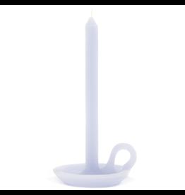 Ontwerpduo Kerze und Kerzenhalter Talg Lavendel
