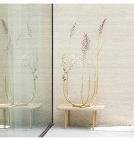 UNC Tube Vase Brass / Gold