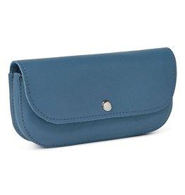 Keecie Sunglasses case, Sunny Greetings, Faded Blue