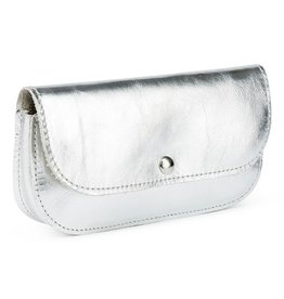 Keecie Sunglasses case, Sunny Greetings, Silver