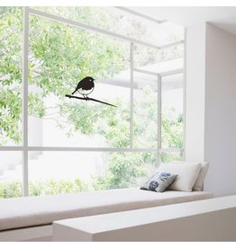 Metalbird Fenster & Glas Aufkleber Robin