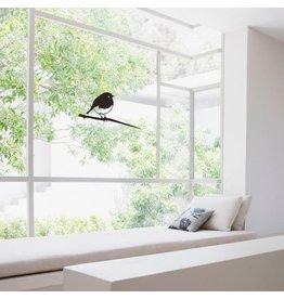 Metalbird Window & Glass Sticker Robin