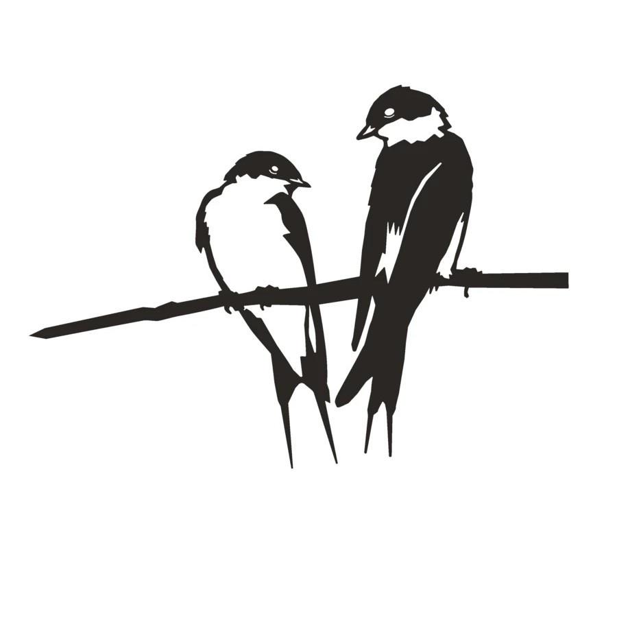 Raamsticker Zwaluwen