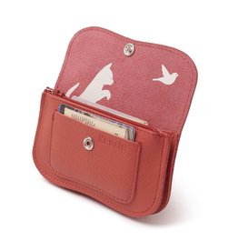 Keecie Purse Cat Chase Small Coral