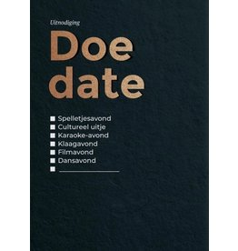 Happy Whatever Do Date