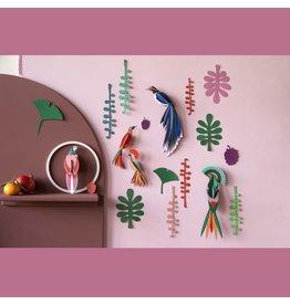 Studio ROOF Wand der Curiosities, Bird Observer