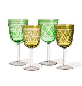 Pols Potten Wine glasses Tie Up set 4