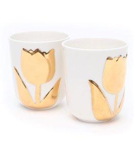 Hollandsche Waaren Cups Tulip Set of 2
