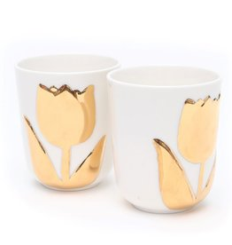 Hollandsche Waaren Tassen Tulpe 2er Set