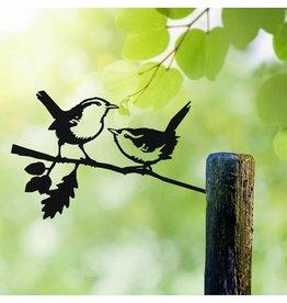 Metalbird Zaunkönig Lovebirds