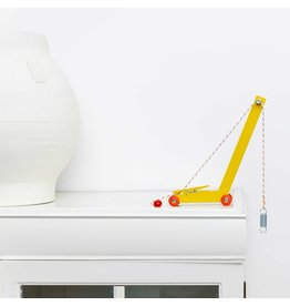 Ikonic Toys Yellow Crane - Floris Hovers in limitierter Auflage