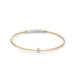 Clic  Dutch Design Jewelry Thinking of You Armband Goud Bolletje Zilver
