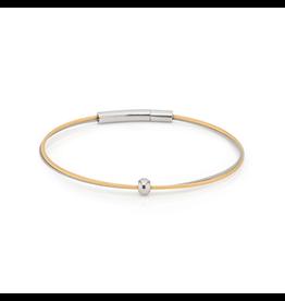 Clic  Dutch Design Jewelry Thinking of You Bracelet Gold Bolletje Silver